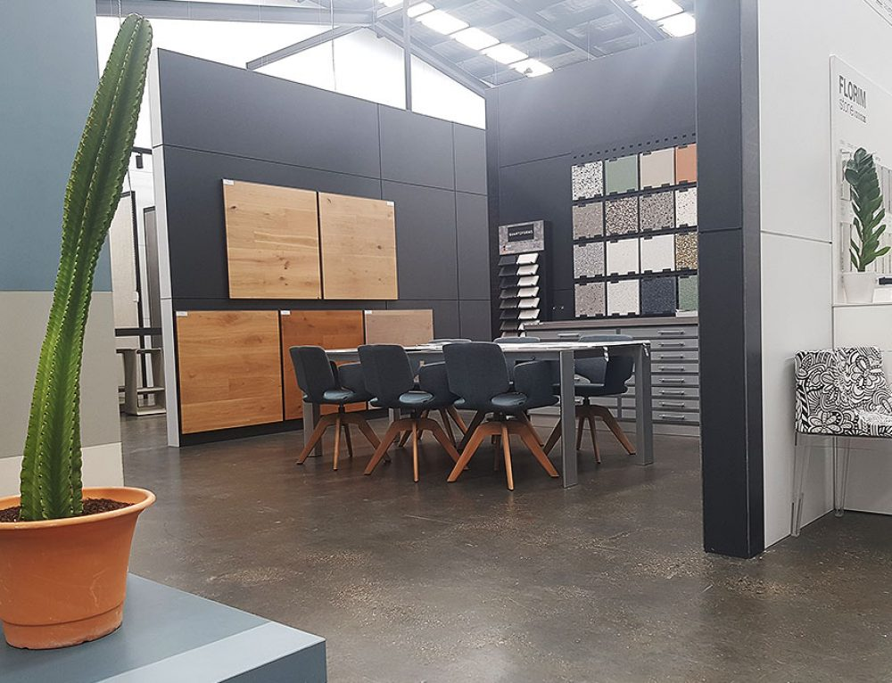 European Ceramics – Showroom Flooring