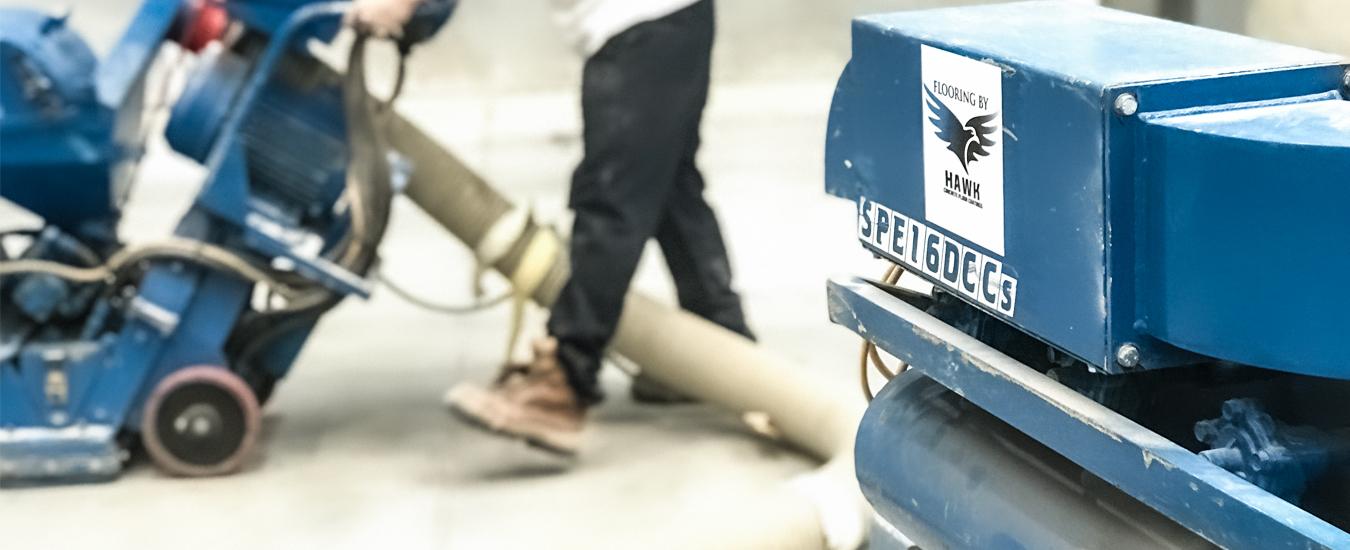 Shot Blasting Hawk CFC